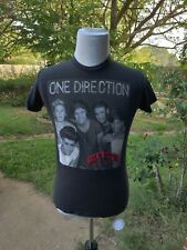 S black T Shirt ONE DIRECTION 2013 Concert US Tour BAND pop TWEENS boy band SING