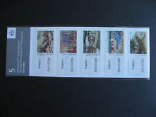 CANADA mint sealed kiosk booklet under inked error affecting Carr, Lismer stamps