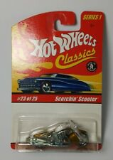 1/64 HOT WHEELS: SCORCHIN' SCOOTER - 2005 HW CLASSICS. HARD TO FIND SERIES 1