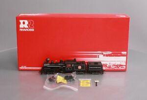 "Rivarossi R5467 HO Weyerhaeuser 4"" - 3 Trucks Heisler Steam Locomotive w/ Tender"