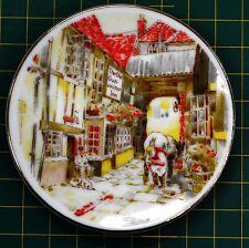Pin Dish, Unknown Japan Maker, The Old Gun-Smith Inn, Souvenir Dish 80mm Diam