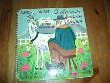 Alphonse Daudet Chèvre de M. Seguin Pierre Brasseur livre-disque 45 tours vinyle