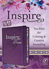 NEW NLT Inspire Praise Coloring and Journaling Bible New Living Translation Art