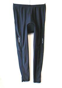 Fdx Men's Cycling Leggings Size Large, Black Padded