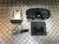 13-17 VW GOLF MK7 2.0 TDI DIESEL MANUAL COMPLETE ENGINE ECU KIT 04L907309D