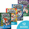 Captain Underpants Collection, Dav Pilkey- NEW sealed set of 12 books-NEW