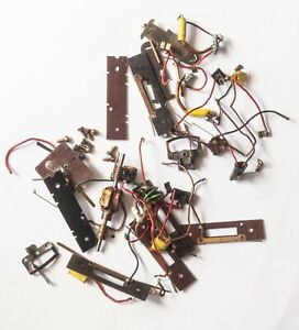 Hornby/Triang electrical pick-ups and various odd parts