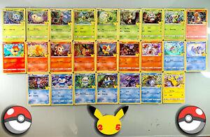 2021 Pokemon Mcdonalds 25th Anniversary Cards - Complete Your Set Holos/NonHolos