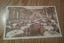 VINTAGE POSTCARD THE WALDORF-ASTORIA THE SERT ROOM NEW YORK CITY