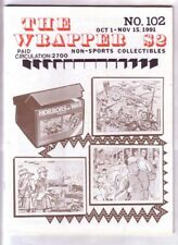 THE WRAPPER #102 - 1991 Non-sports cards fanzine - HORRORS OF WAR cards