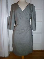 NWT: DKNY Mini Houndstooth V-Neck Crossover Dress, Size 10, $325