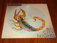 SCORPIONS BIG CITY NIGHTS 12-INCH PICTURE DISC LP