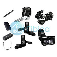 New 2017 Shimano Deore XT Di2 M8050 M8000 22s Electronic Upgrade Group Groupset