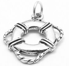 925 Sterling Silver Life Preserver Charm