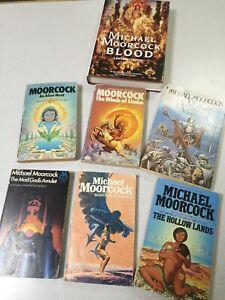 Michael Moorcock Job lot of Books x7 Vintage Sci Fi