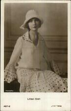 Actress Lillian Gish Iris Verlag 427-3 c1915 Real Photo Postcard