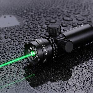 Green Dot Laser Sight Designator Air Gun Rifle Mount Tactical Hunting Scope