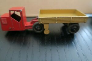 893 Dtf563-dinky toys-unic sahara-hook plate tractor