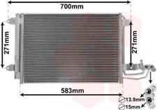 Kondensator, Klimaanlage für Klimaanlage VAN WEZEL 58005209