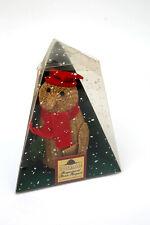 "M&S - Christmas Novelty Decorations Fragranced Straw Penguin 6"""