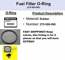 2 PACK!!! Fuel Filter Water Separator Bowl O-Ring Seal Seadoo 2 PACK!! EXTRA!!