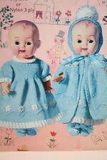 Dolls Clothes Knitting Pattern (DC002)