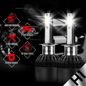 2x Ultra White H1 CREE LED Headlight High Low Beam Light SMD Bulbs Vehicle Lamp