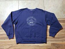 VTG Ralph Lauren Polo Sport Marine Supply Sailing V-Stitch Sweatshirt Shirt L