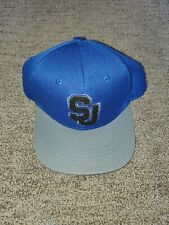 Sean John Men's Chenille Jersey Baseball Cap, Embroidered Logo, Royal, One Size