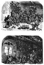 Gustave Dore gigantón Pantagruel 112 A4 Foto impresión
