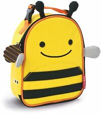 Skip Hop ZOO LUNCHIE INSULATED LUNCH BAG - BEE Kids Insulated Lunch Bags BN