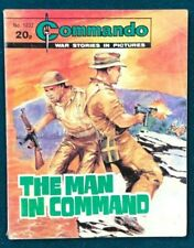 COMMANDO #1832 The Man in Command (1984) British B&W digest size comic book VG+