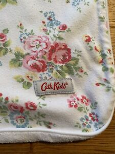Cath Kidston Baby Blanket Jersey Roses Floral Ditsy Print