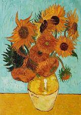 Framed Van Gogh Painting Reproduction Sunflower Canvas Print Home Decor Wall Art