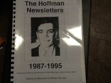 Michael A. Hoffman bound newsletters 1987-1994; conspiracy, revisionism; OOP