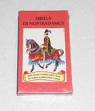 Carte SIBILLA DI NOSTRADAMUS Lo Scarabeo 1996 TAROT 30 Cards Tarocchi