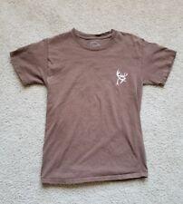 Buck Commander Camo Men's Brown Pink T-Shirt Size Small Deer Hunting Wildlife