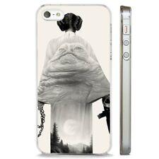 Star Wars Princesa Leila Babba claro caso cubierta teléfono se ajusta iPHONE 5 7 8 X 6