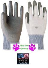 Animal Handling GLOVES Made w/ DYNEEMA®(Better than Kevlar)PET DOG CAT BIRD*M-L