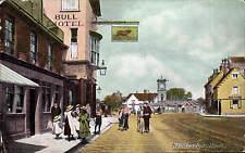 Hoddesdon, Herts. # 95 in Tudor Series. Bull Hotel.