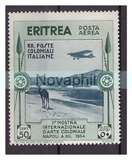 ERITREA  1934  -  ARTE COLONIALE   CENTESIMI 50  PA  NUOVO **
