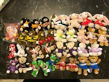 Large Lot of 27 BUILD A BEAR Mini McDonalds Toys 2006 with outfits