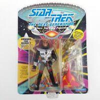 Star Trek Klingon Tie Clip Clasp Bar Slide Silver Metal Shiny