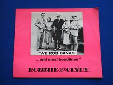 Bonnie and Clyde - UK Promotional Press book 1967