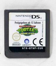 Nintendo DS TMNT & Turtles Arcade Attack games