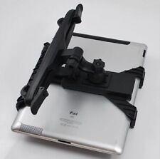 Universal Car Back Seat Headrest Stand Mount Holder For iPad 2 3 4 Tablet Black