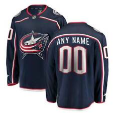 Customized Columbus Blue Jackets Stitched Jersey Men Ice Hockey Any Name Number