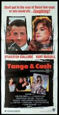 TANGO AND CASH Sylvester Stallone Kurt Russell Australian Daybill Movie Poster