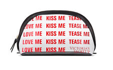 VICTORIA'S SECRET LOVE ME KISS ME TEASE ME COSMETIC CASE BRAND NEW w/TAGS