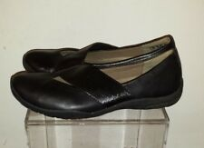 CLARKS COLLECTION, BLACK LEATHER  Casual, size 7.5